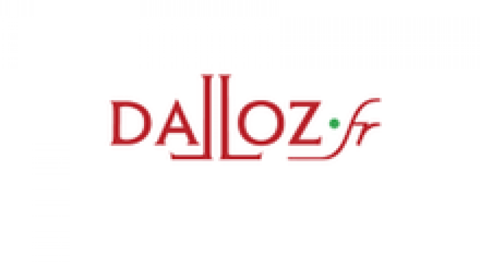 Logo Dalloz fr